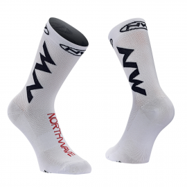 Calcetin Northwave Extreme Air blanco-negro-rojo