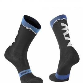 Calcetin Northwave Clan negro-azul