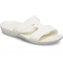 Chanclas Crocs Serena Slide blanca mujer