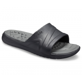 Chanclas Crocs Reviva Slide U negra/gris hombre