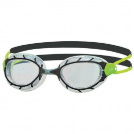 Gafas natación Zoogs Predator negro/gris/lima