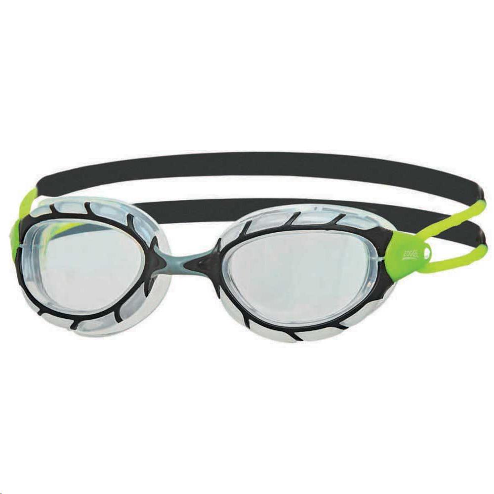 f96088f5f Gafas natación Zoogs Predator negro/gris/lima - Deportes Moya