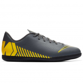 Zapatillas fútbol Nike Vaporx 12 Club GS IC gris junior