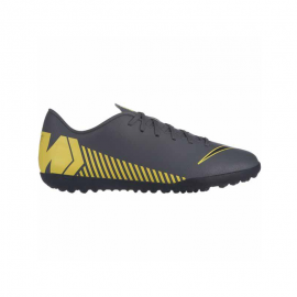 Zapatillas fútbol Nike Vaporx 12 Club TF gris hombre