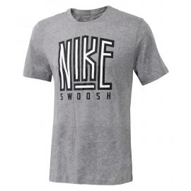 Camiseta Nike Swoosh BB Core gris hombre