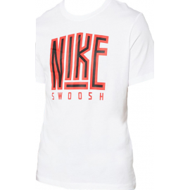 Camiseta Nike Swoosh BB Core blanca hombre