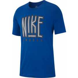 Camiseta Nike Swoosh BB Core azul hombre