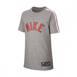 Camiseta Nike Air S+ gris junior
