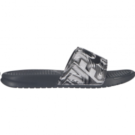 Chancla Nike Benassi JDI Print antracita/negro hombre