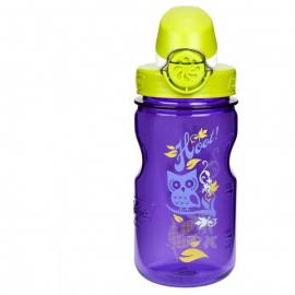 Botella Nalgene OTF Kids 350ml violeta buho