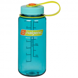 Botella Nalgene 500ml boca ancha azul ceruleo