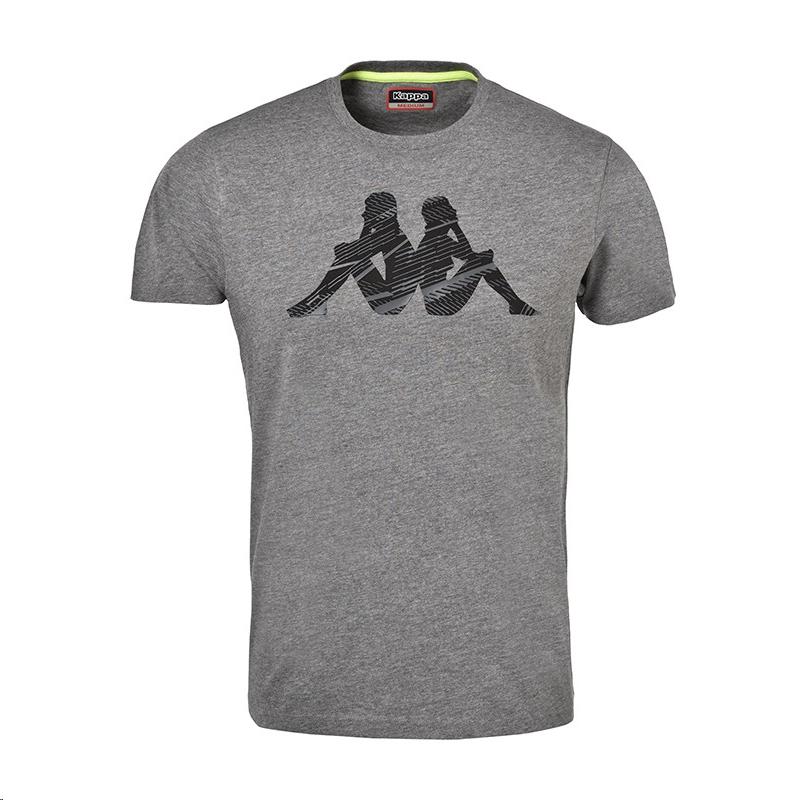 Moya Kappa Gris Camiseta Hombre Gleno Deportes MSVpqUzG