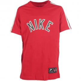 Camiseta Nike Air S+ roja niño