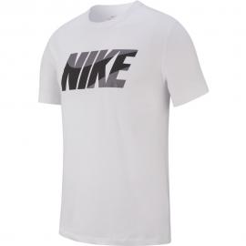 Camiseta Nike Dry DFC Nike Block blanca/negra hombre