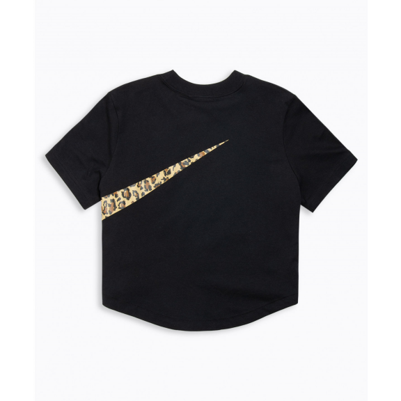 eb9c16b5209e Camiseta Nike Top Crop Animal negra mujer