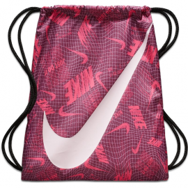 Mochila saco Nike Graphic Gym sack burdeos/rosa