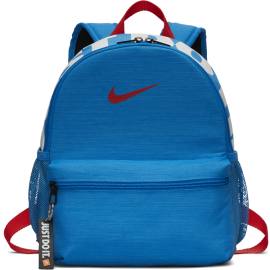 Mochila pequeña Nike Brasilia JDI azul/roja