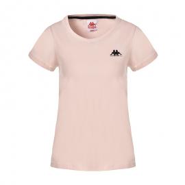 Camiseta Kappa Yuna Authentic rosa mujer