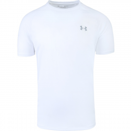 Camiseta Under Armour Tech SS blanca hombre