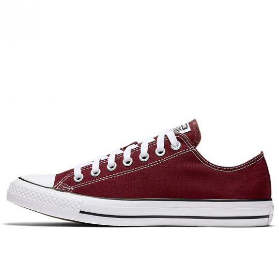 Zapatillas Converse All Star Ox burdeos unisex