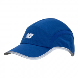 Gorra Running New Balance Performance 5P azul unisex