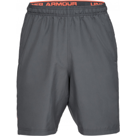Pantalón Under Armour Woven Graphic Wordmark gris hombre