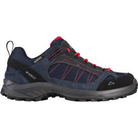 Zapatillas trekking McKinley Travel Confort AQX azul hombre