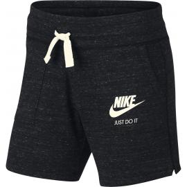 Pantalón Nike Sportwear vintage negro niña