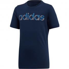 Camiseta adidas Linear marino junior