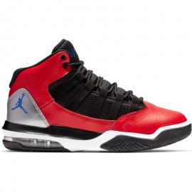 Zapatillas baloncesto Nike Jordan Max Aura rojo/negro junior