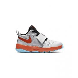 Zapatillas baloncesto Nike Team Hustle D 8 Sd gris niño