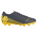 Botas fútbol Nike Vapor 12 Club Mg gris junior