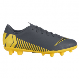 Botas fútbol Nike Vapor 12 Club Mg gris junior