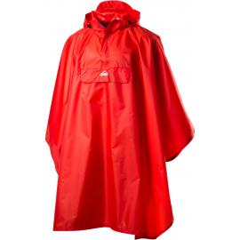 Poncho impermeable McKinley Lambaol II rojo unisex