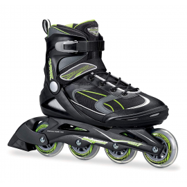 Patines Rollerblade Advantage Pro negro/verde unisex