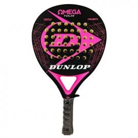 Pala de pádel Dunlop Omega Tour negra/rosa fluor 2019