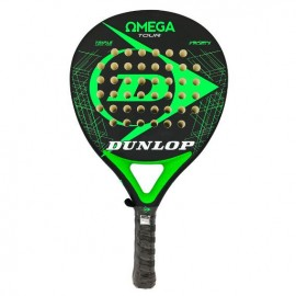 Pala de pádel Dunlop Omega Tour negra/verde fluor 2019