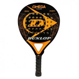 Pala de pádel Dunlop Omega Tour negra/naranja fluor 2019