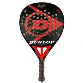 Pala de pádel Dunlop Graphite LTD roja/negra