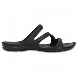 Sandalias Crocs Swifwater negro mujer