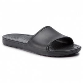 Chanclas Crocs Sloane Slide negra mujer
