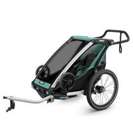 Carrito Thule Chariot Lite1 +Kit Bici azul V19 10203006