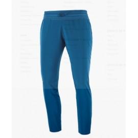 Pantalon outdoor Salomon Comet azul mujer