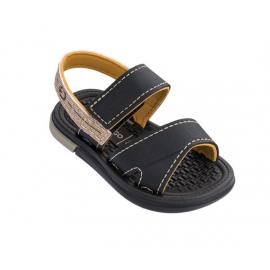 Sandalia Cartago Mali X Sand negro/amarillo bebé