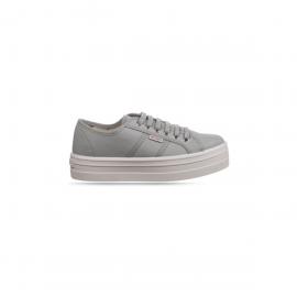 Zapatillas lona Victoria Plataforma 109200 gris mujer