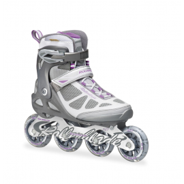 Patines Rollerblade Macroblade 80 antracita/plata mujer