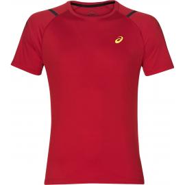 Camiseta running Asics Icon SS Top roja hombre