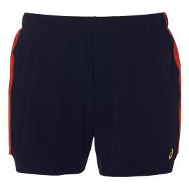 """Pantalón running Asics 5.5"""" Short negro/rojo mujer"""