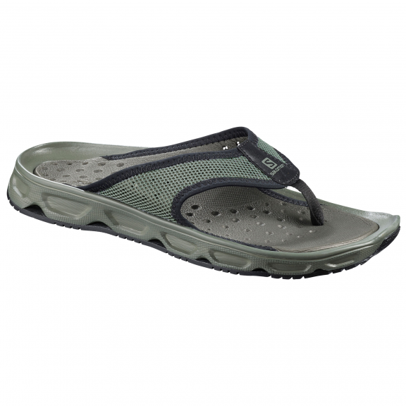 Chanclas descanso Salomon Rx Break 4.0 verde/negro hombre