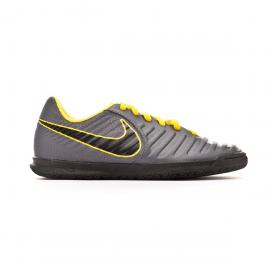 Zapatillas fútbol Nike TiempoX Legend 7 Club IC gris junior